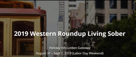 44th Annual Western Roundup Living Sober Conference -...