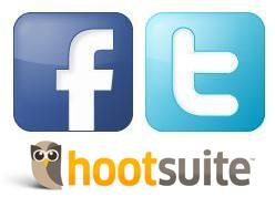 How to use Twitter & Facebook with Hootsuite to market...