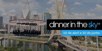 .28/04/2019 | Dinner in the Sky Brasil