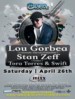 Sugar Groove Pres Lou Gorbea & Stan Zeff April 26th