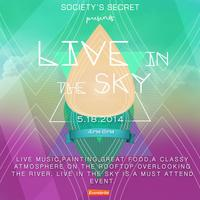 LIVE IN THE SKY:  An Evening Art Experience