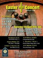 Easter Concert - Sacred Music Tremors Soul
