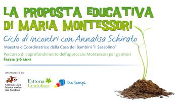 La proposta educativa di Maria Montessori - Secondo...