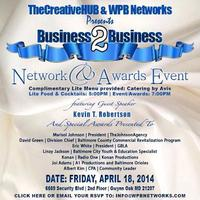 The Creative Hub Presents Business 2 Business Network...