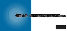 IBM Center for Social Business logo