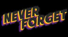 Never Forget logo