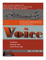 Arts in Community: Exploring the Vocal Arts with the...