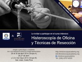 Histeroscopía de Oficina e Histeroresección (Fines de...