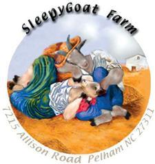 Della Williams at SleepyGoat Farm logo