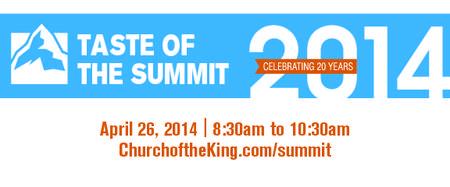 Taste of the Summit Breakfast