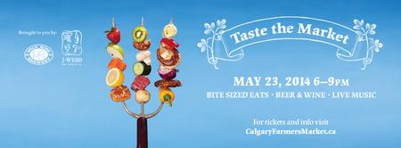 Taste the Market at the Calgary Farmers' Market