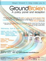 GroundBroken: Policy Panel and Reception on the...