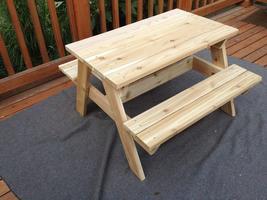Parent/Child Workshop: Kid-sized Picnic Table