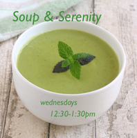Soup and Serenity: What's for Lunch?