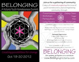 Belonging: A Victoria Youth Homelessness Summit