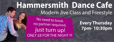 2 for 1 Tonight: Hammersmith Dance Cafe Thursday 3rd...