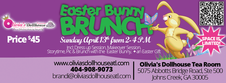 Easter Bunny Brunch in Johns Creek