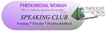 Phenomenal Woman Speaking Club Training Session 1