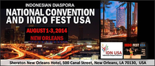 The Committee for Indonesian Diaspora National Convention and Indo Fest USA logo