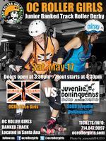 OC Roller Banked Track: OC's Junior Slice Girls vs...