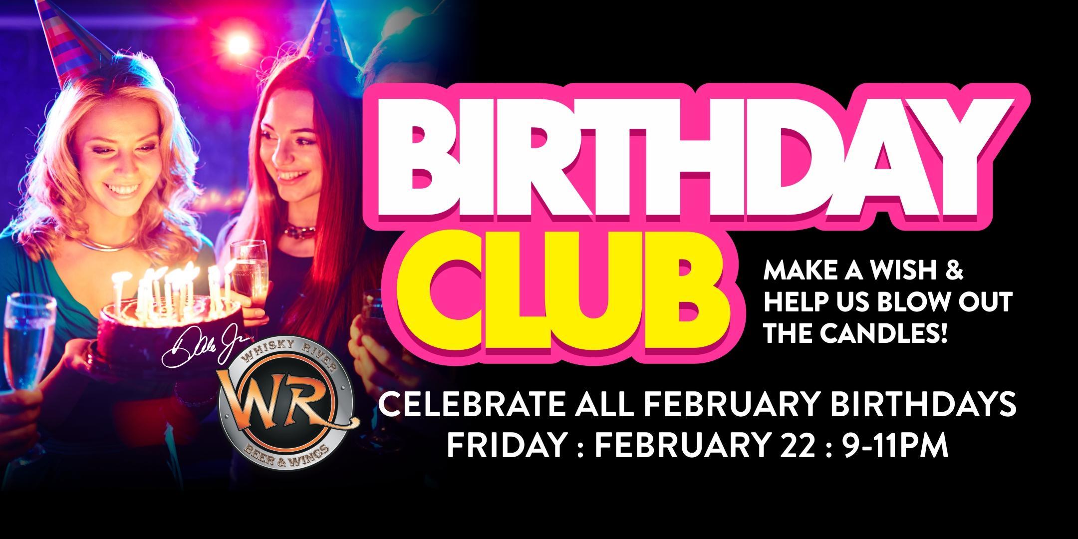 February VIP Birthday Celebration