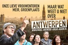 Make Antwerp Great Again - City tours logo