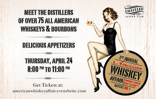 2nd Annual American Whiskey Affair