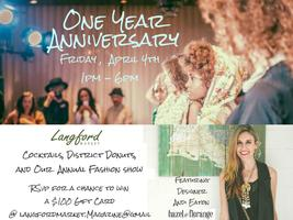 Langford Magazine's One Year Anniversary Party