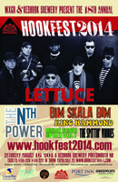 WXGR presents HOOKFEST 2014 feat. LETTUCE