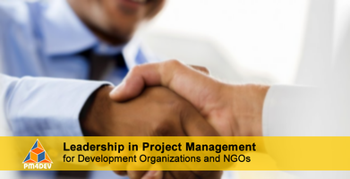 Online Course: Leadership in Project Management for Development (May 20, 2019)