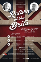 Return of the Brits with DJ Grant Plant and Pete Bones