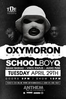 Schoolboy Q with Isaiah Rashad, Vince Staples & Audio...