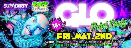 GLO Paint Party Tour Atlanta GA