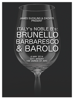 Italy's Noble B's: Brunello, Barbaresco & Barolo Wine...