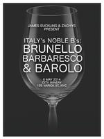 Italy's Noble B's: Brunello, Barbaresco & Barolo Wine...