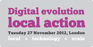 Digital evolution, local action
