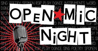 8:30pm - Open Mic Night w/ Derek Smith