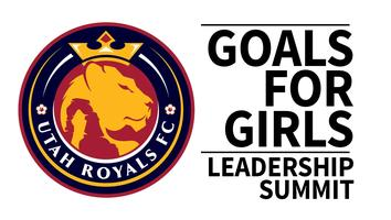 2019 Goals for Girls Leadership Summit with Utah Royals FC