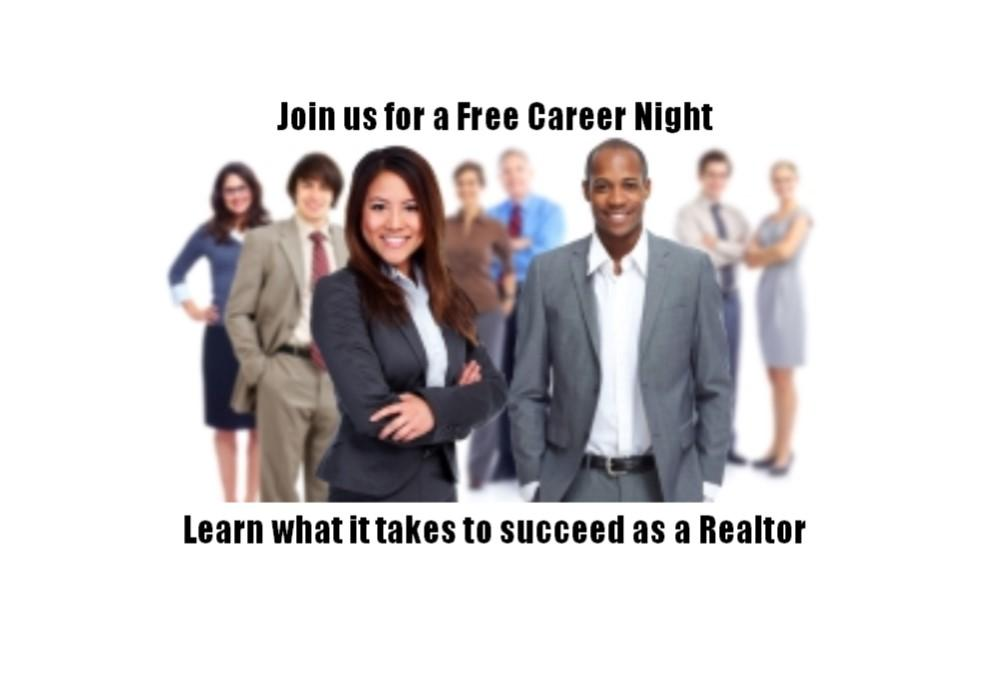 Real Estate Virtual Career Night - learn what a career in R.E. looks like