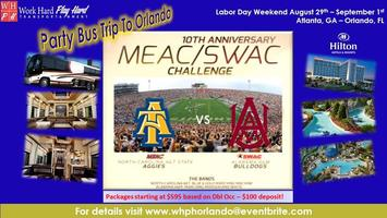 MEAC/SWAC Challenge - Party Bus Trip To Orlando