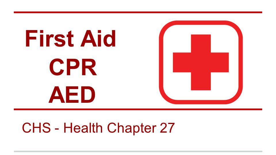 Ashi Cpr Aed And Basic First Aid Combination Training With