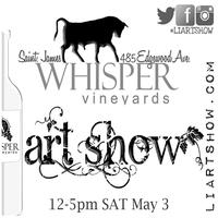 Whisper Vineyards Spring Art Show 5.3.14