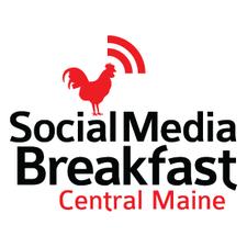 Social Media Breakfast Central Maine logo