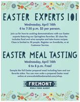Easter Experts 101