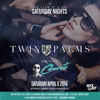New Saturday Night under the Stars at Twin Palms with...