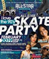 "I Love the 90's Skate Party:  Char-LITT ""All Star"" Edition featuring Sunshine Anderson & Moni Love"