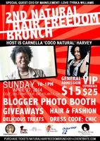 2nd Annual Natural Hair Freedom Brunch