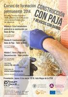 Curso de Construcción con Balas de Paja, Nivel...