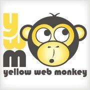 YellowWebMonkey Web Design logo