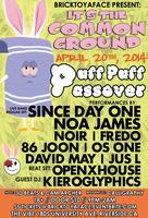 it's The Common Ground Puff Puff Passover 420 event